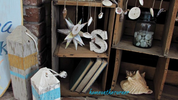 surfboard makeover coastal beach seashells