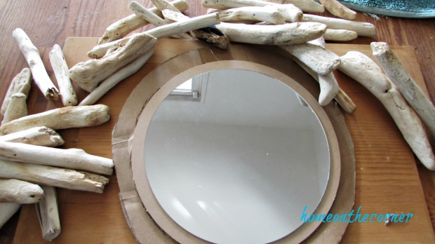 driftwood mirror driftwood pieces round mirror
