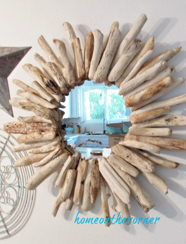 driftwood mirror pieces small and large