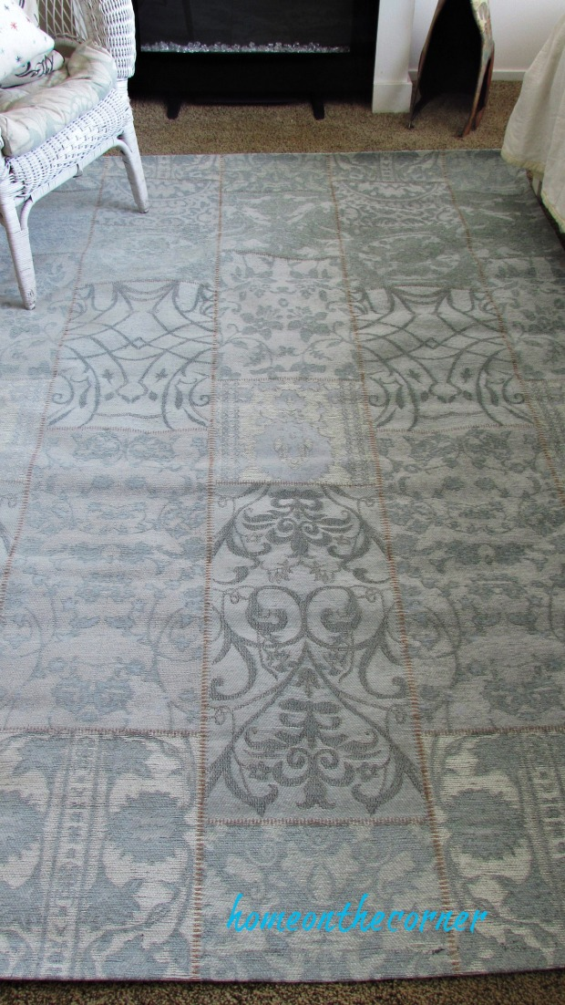 natural area rug turquoise patchwork