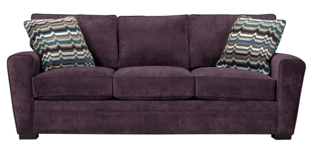violet couch