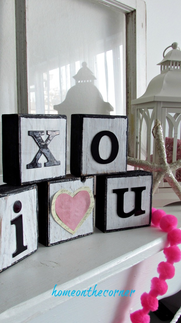 wooden block x and o