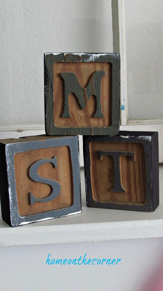 wooden blocks i love you
