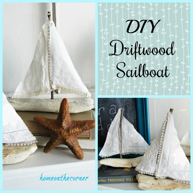 DIY Driftwood Sailboat Title