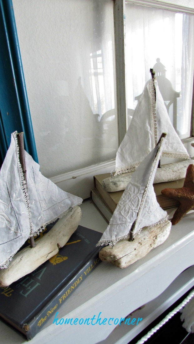 driftwood sailboat 3 of a kind