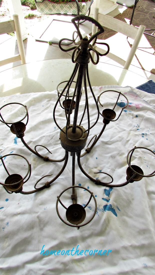farmhouse chandy diy
