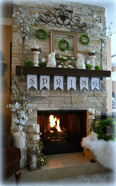 How to Decorate a Spring Mantel 2.jpg
