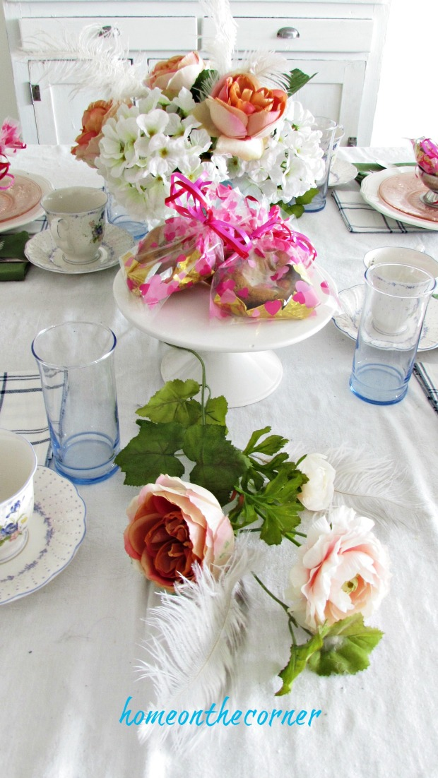 valentinespring tablescape pink peonies