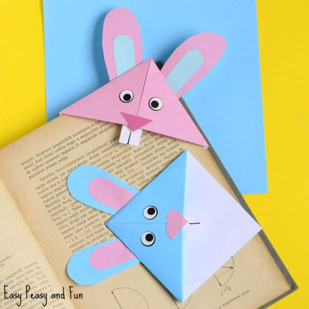 Cute-Easter-Bunny-Corner-Bookmark