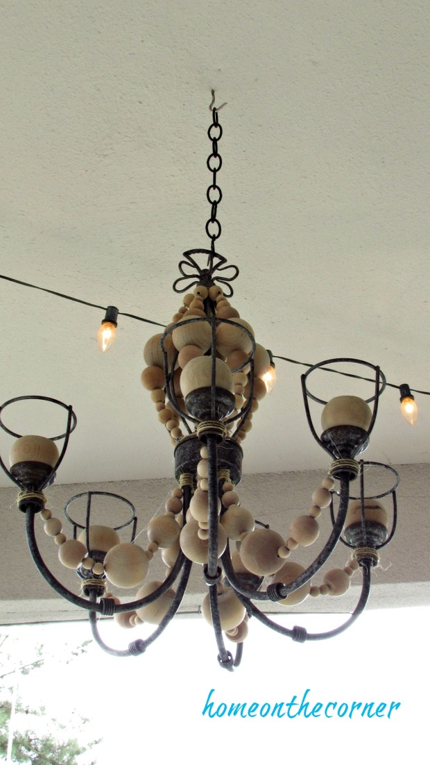 farmhouse black metal chandelier