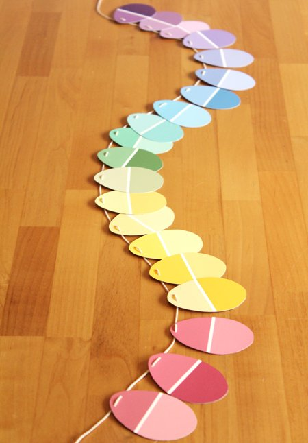 Paint-Chip-Garland