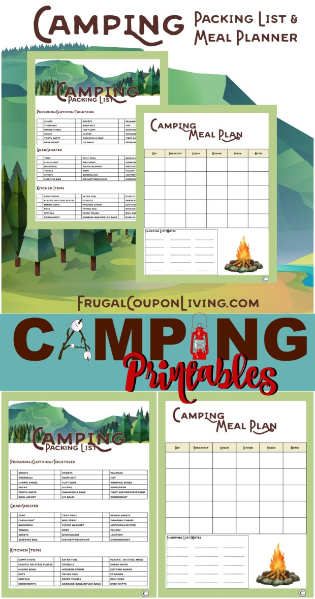 Camping-Printables-Collage-frugal-Coupon-Living.jpg