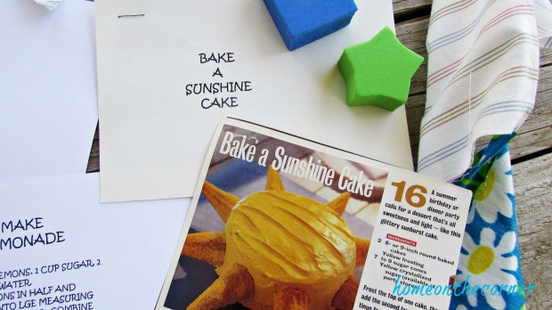 Summer Fun Ideas for kids bake a cake