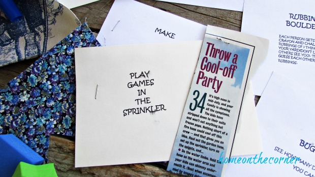 summer fun ideas play games
