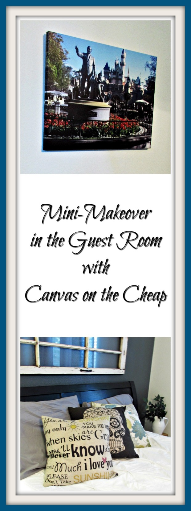 Guest Room Makeover Title