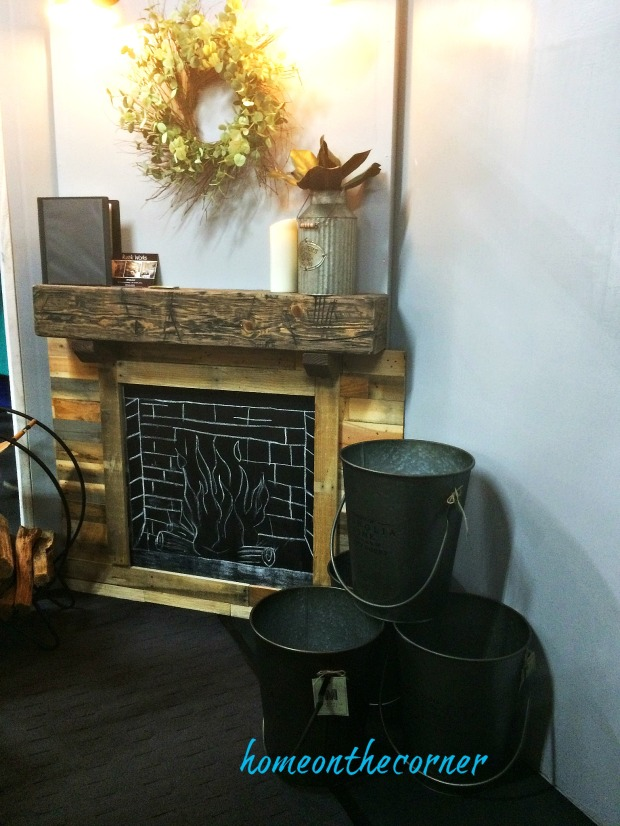 home improvement show fireplace Magnolia