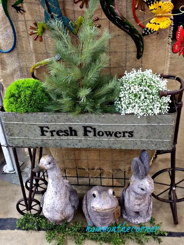 home improvement show fresh flowers