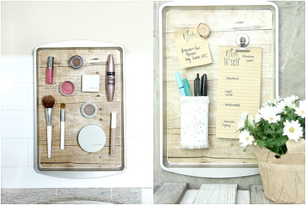 How-to-DIY-a-Magnetic-Organizer-from-a-Dollar-Store-Cookie-Sheet