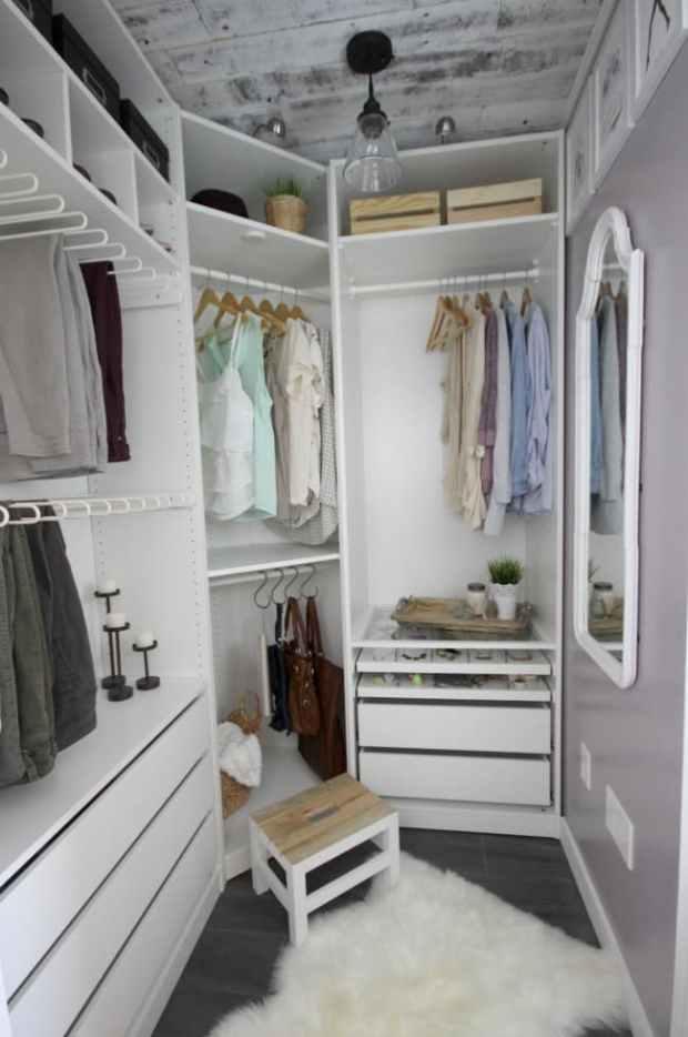Closet-staged