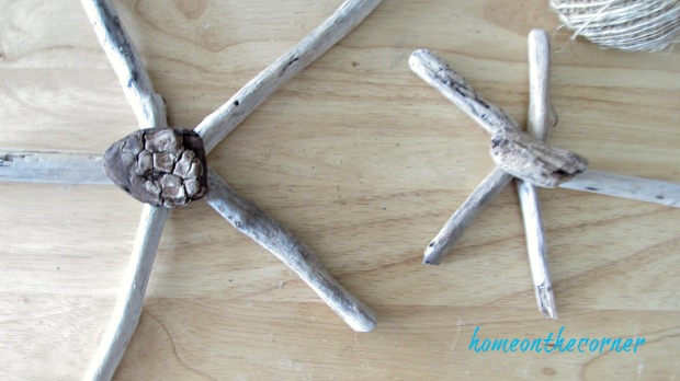 driftwood starfish 5 pieces