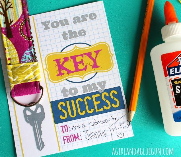 key to my success