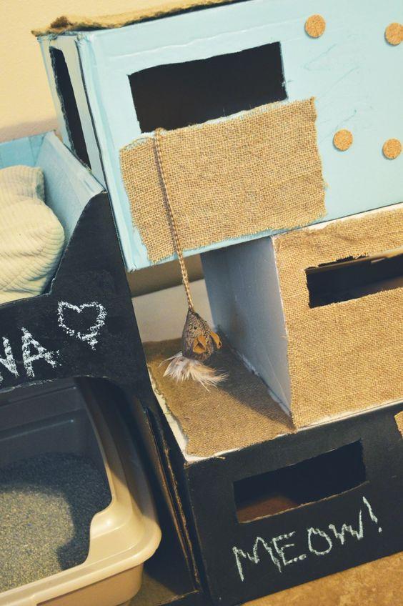 Carboard Cat Condo