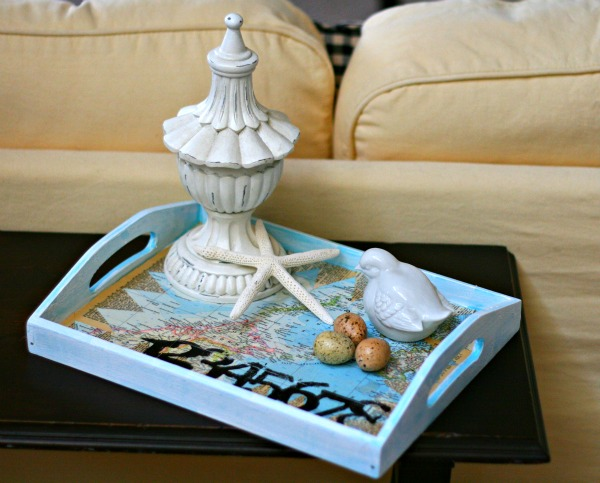 decoupage-tray