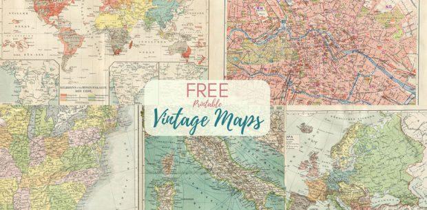 FREE-printable-vintage-maps