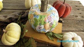 travel map pumpkin book pumpkins leaves