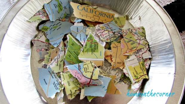 travel pumpkin map pieces