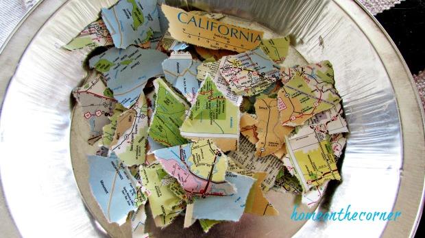 travel pumpkin map pieces