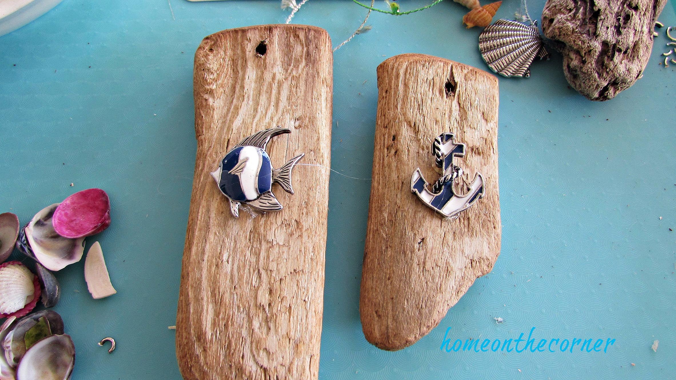 ornament exchange coastal fish anchor