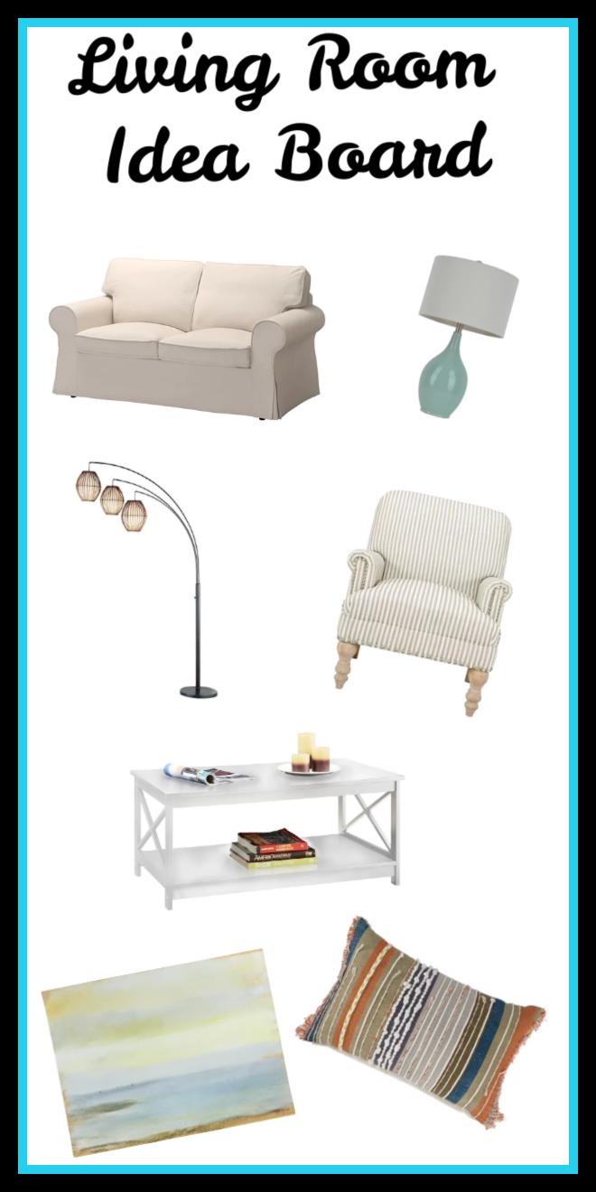 living room idea board