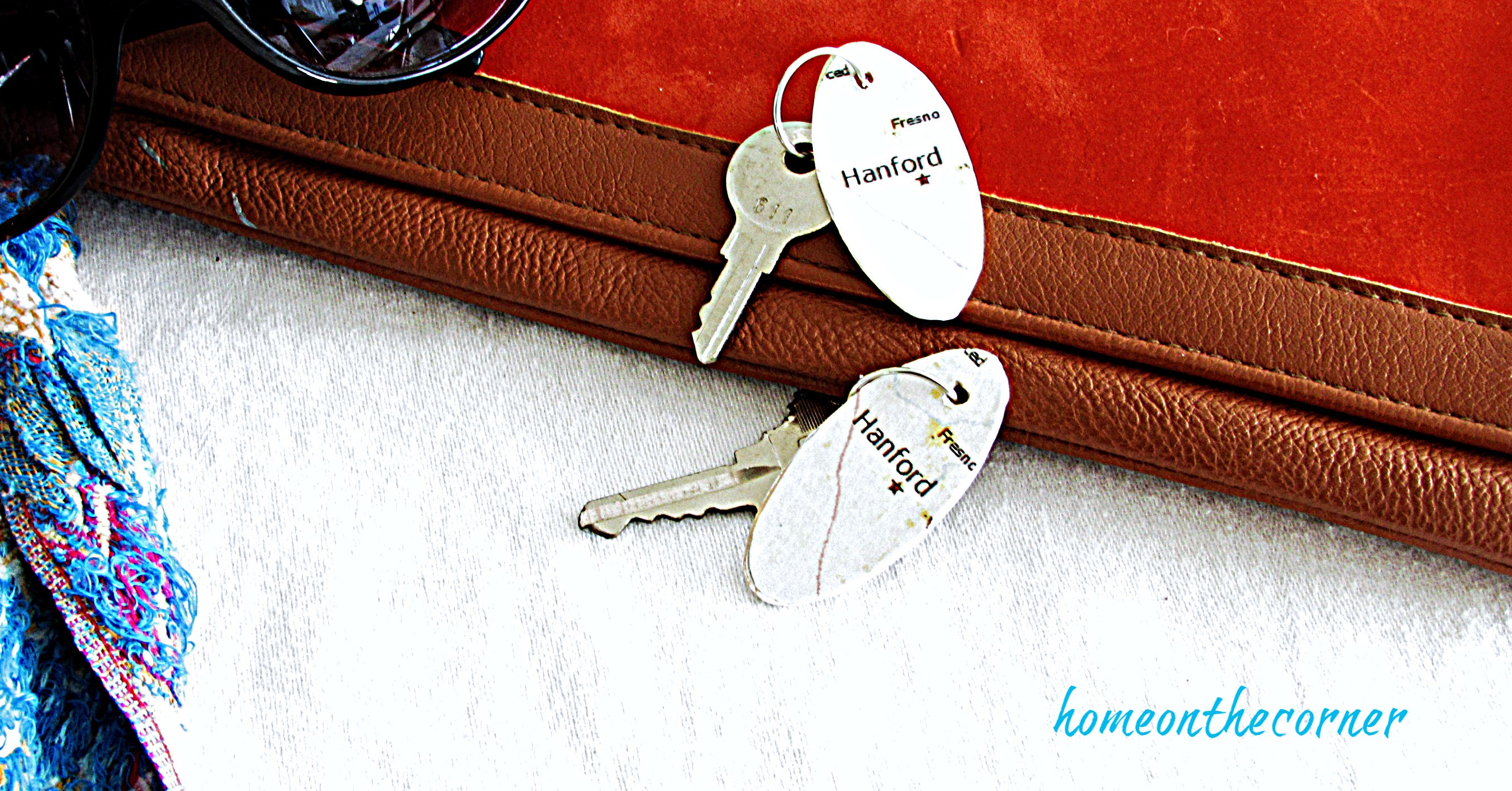 map key chains with keys
