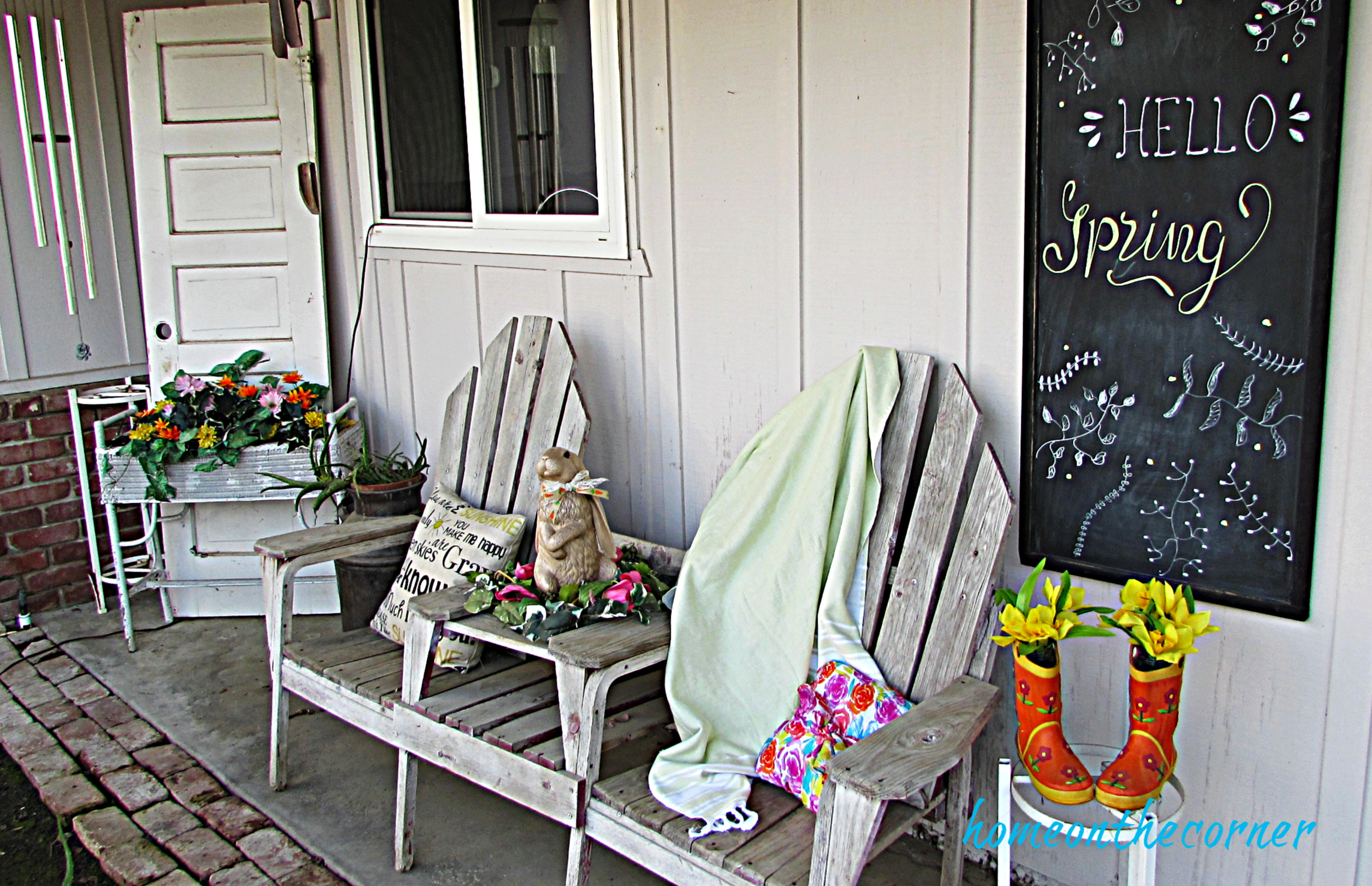 spring 2019 front porch