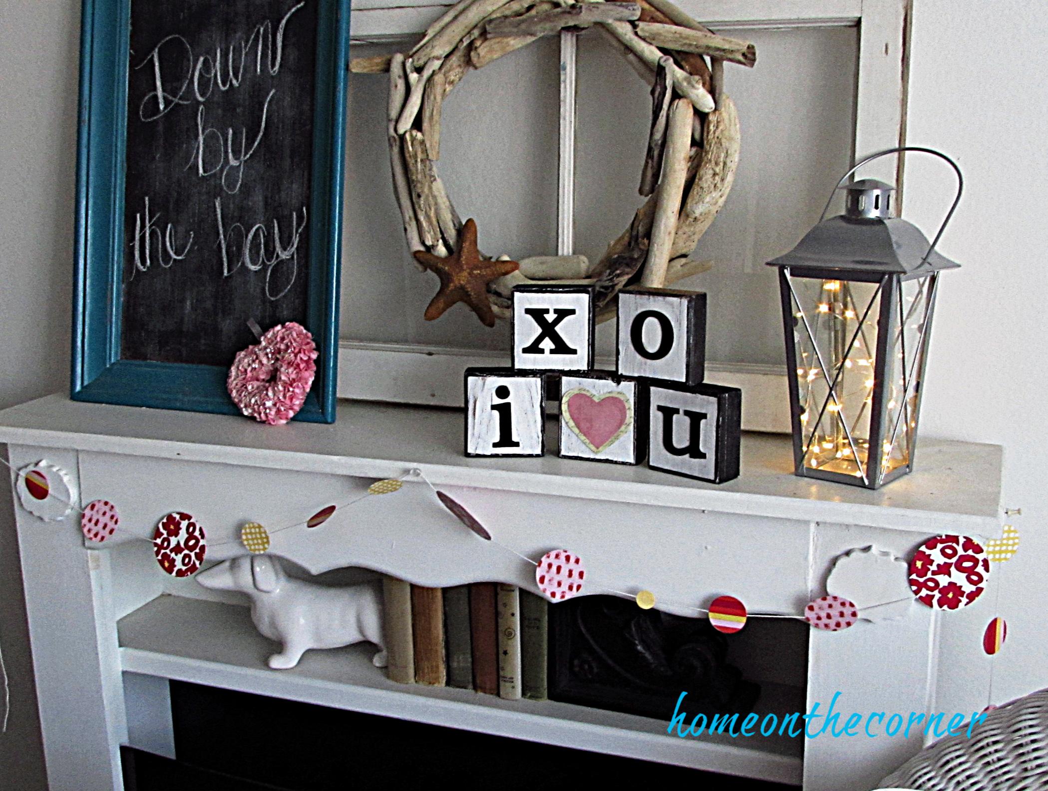 valentine tablescape valentine mantle