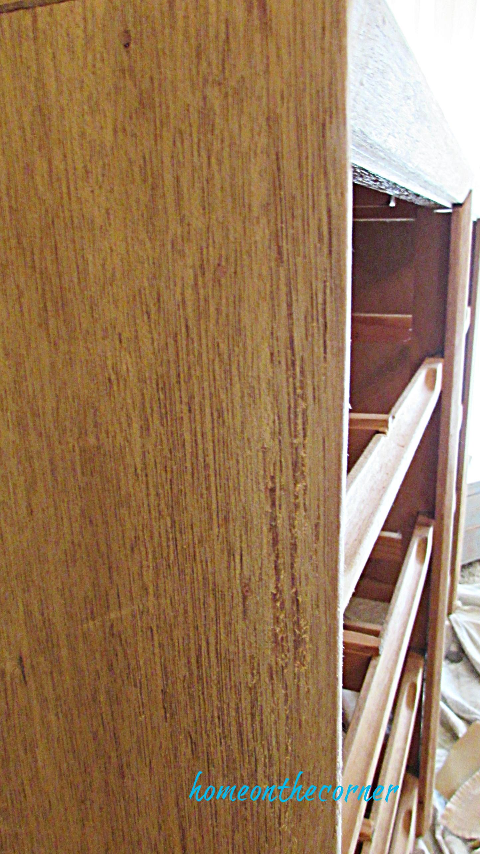 master bedroom dresser sanded