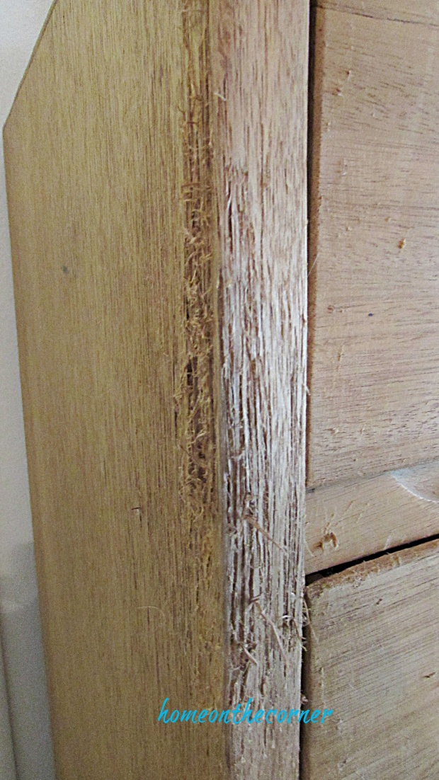 master bedroom dresser scratches
