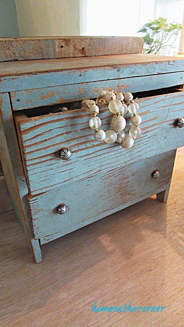 master bedroom dresser vintage drawers and pearls