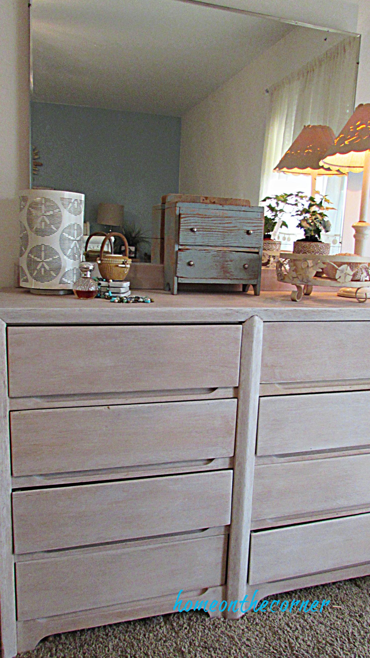 master bedroom dresser white wash