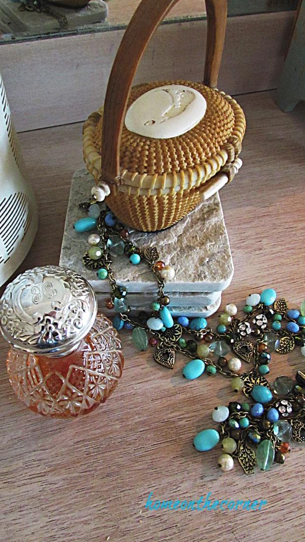 mater bedroom dresser perfume necklace