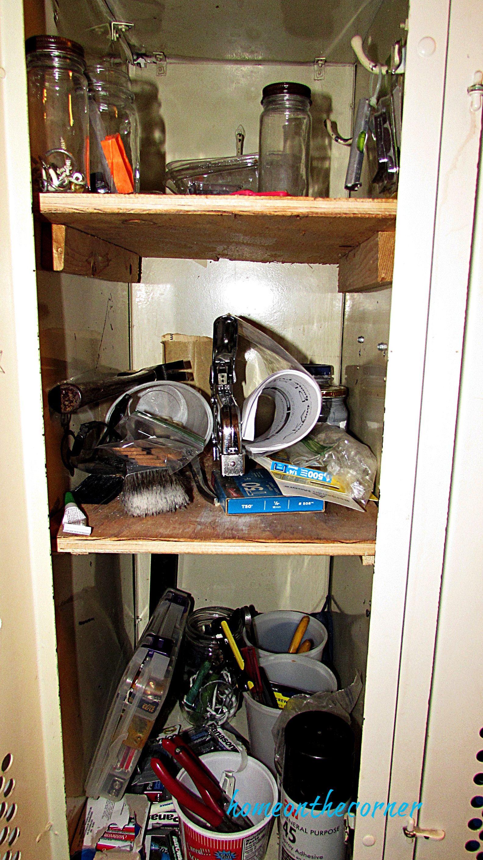 laundry room locker storage