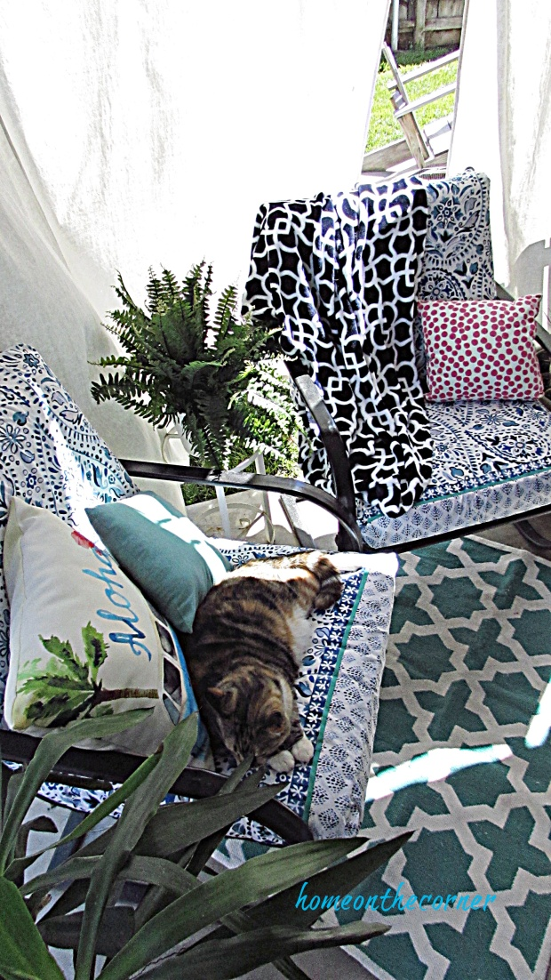 outdoor back patio cushion covers