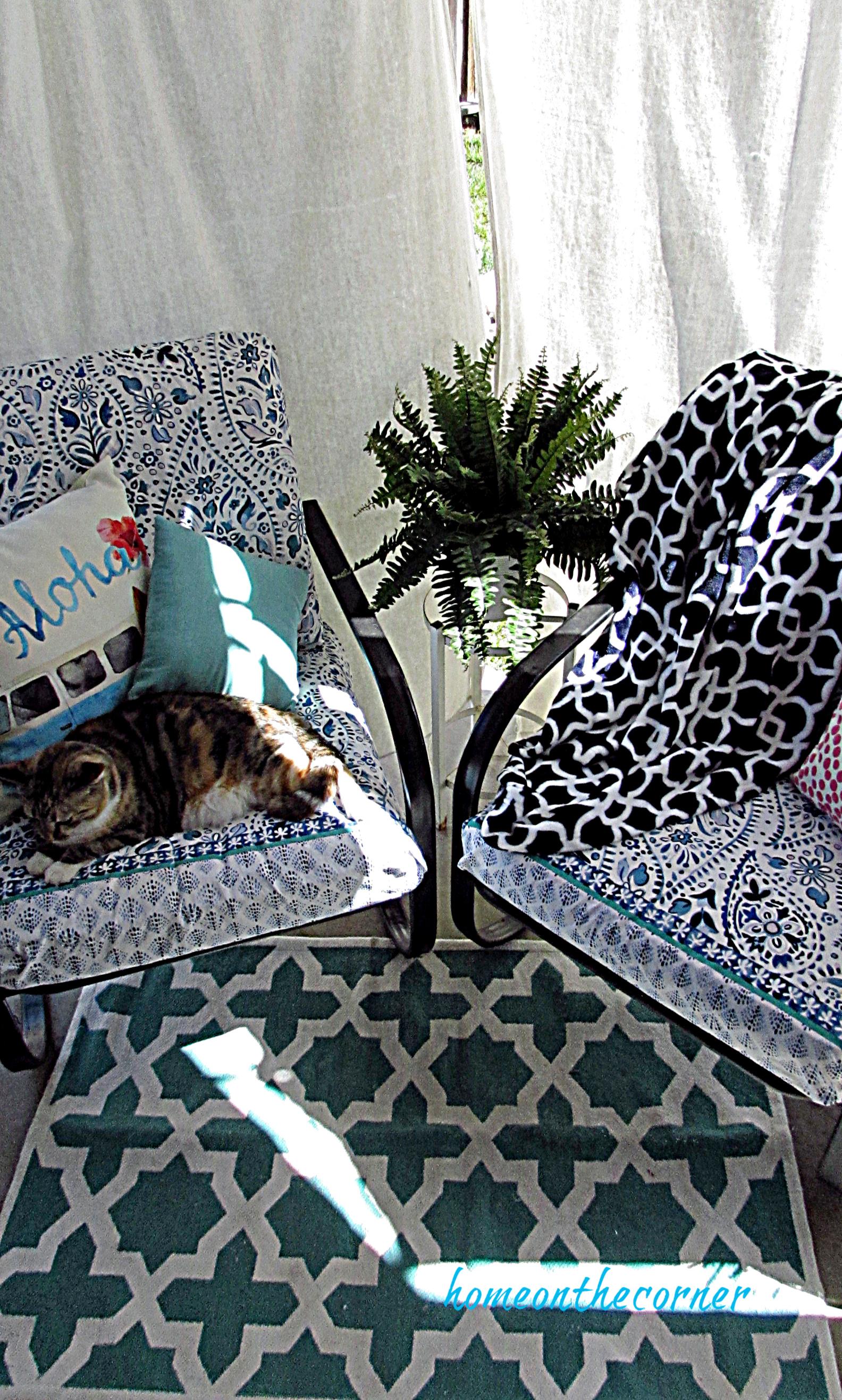 outdoor cushion patio porch