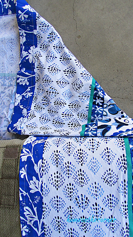 outdoor furniture makeover folded corner