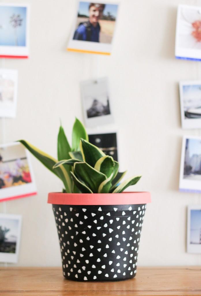 diy-painted-planter