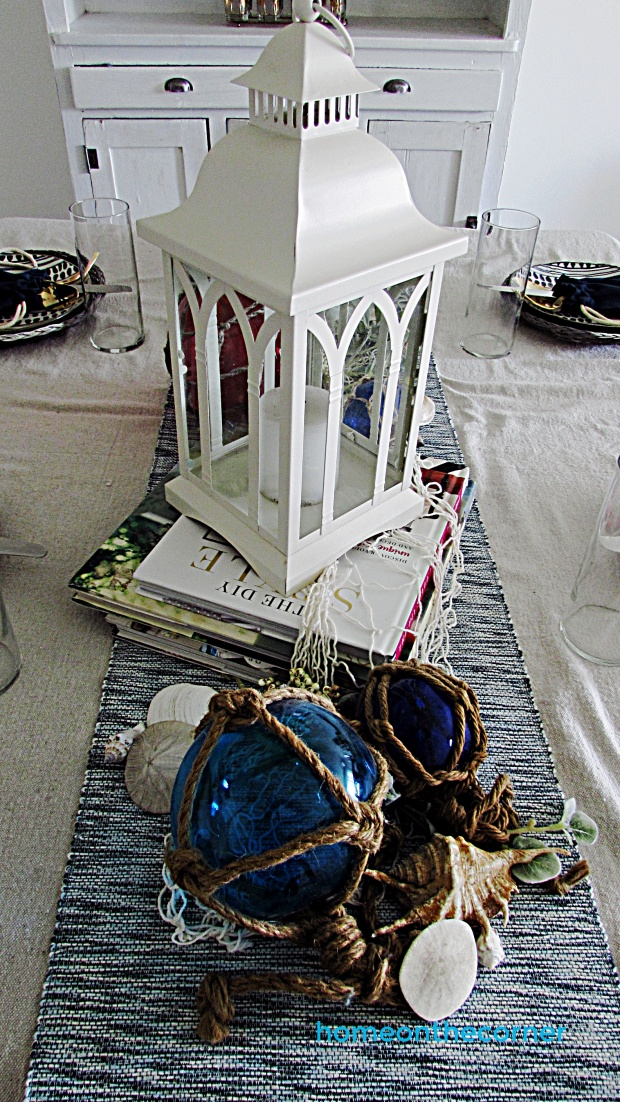 coastal dining room lantern
