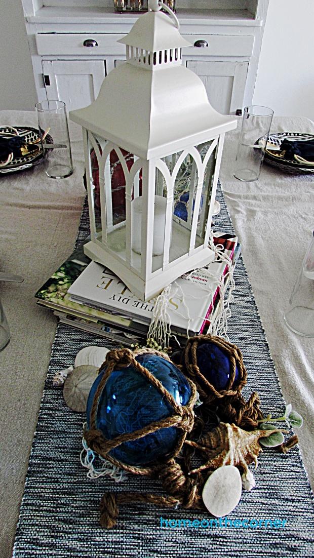 coastal dining room lantern