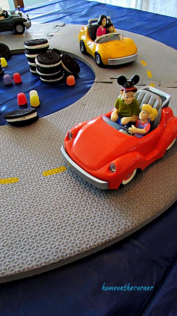 Disneyland Tommorrowland Autopia cars