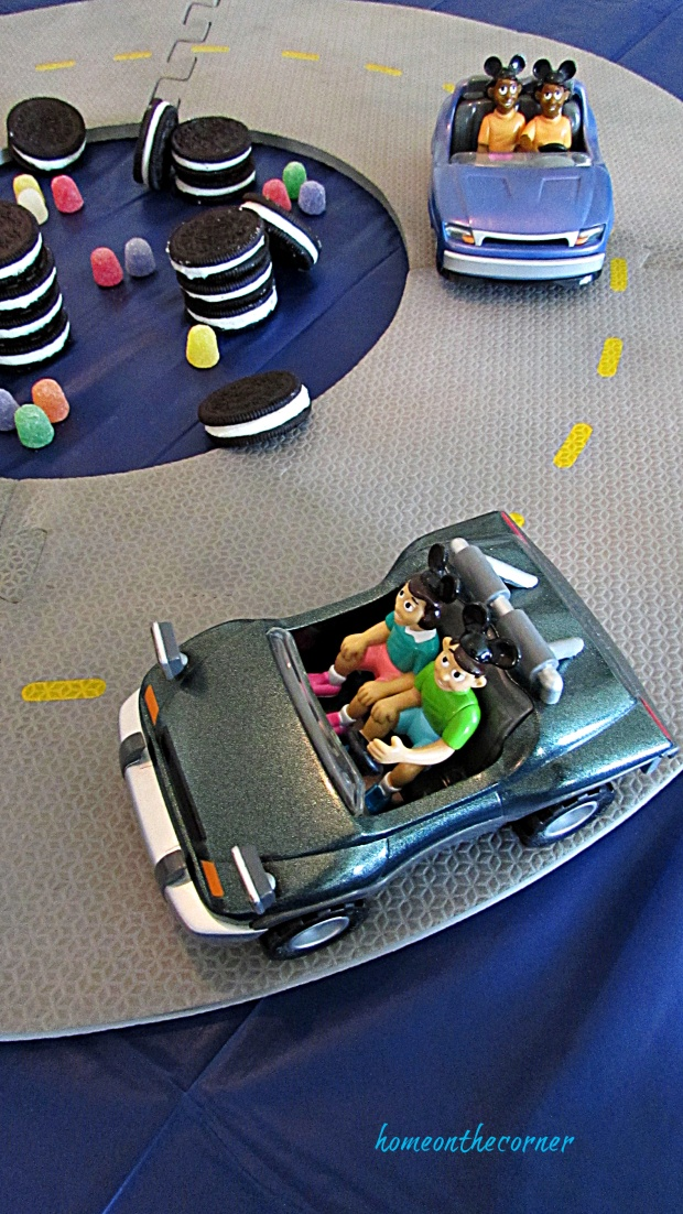 Disneyland Tommorrowland autopia